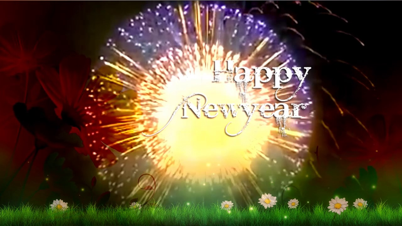 happy new year wishes background animation whatsapp share free video youtube