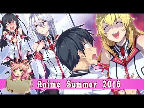 [Аниме Дайджест] Летний аниме сезон 2016 - Нападение панцу? ЭТТИ!!!