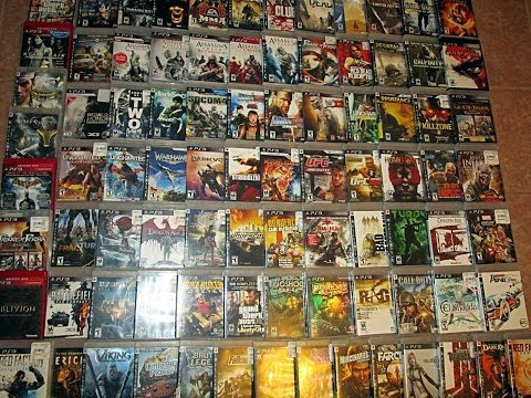 PS3 Game Collection  90 Games    YouTube PS3 Game Collection  90 Games