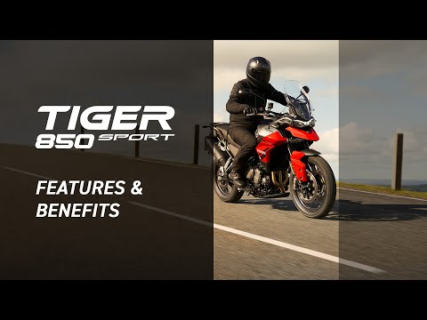 New Triumph Tiger 850 Sport Features and Benefits