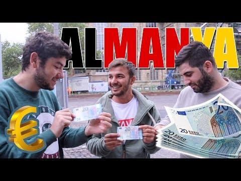 ALMANYA'DA 20 EURO İLE BİR GÜN GEÇİRMEK! ( KAÇAK TREN )