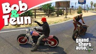 GTA V Online #50 - MOTORBENDE STARTEN MET BOB EN TEUN! (GTA 5 Freeroam, Roleplay BIKERS DLC)
