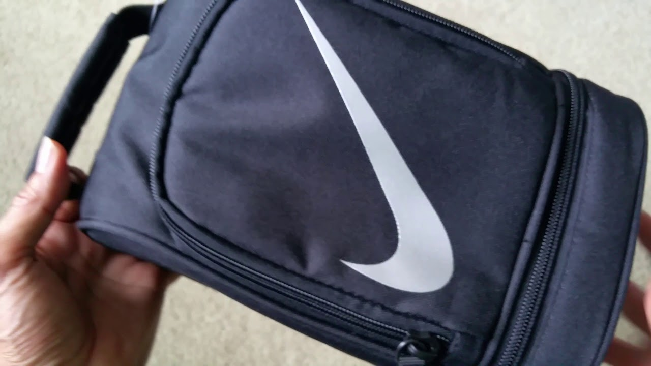 Unboxing NIKE Swoosh Dome Insulated Lunch Bag Pouch! Full HD 2017 ... 875574c327b6c