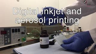 Digital inkjet and aerosol printing