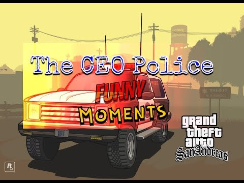 The CEO Police Funny Moments #1