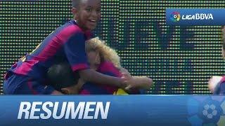 Resumen de FC Barcelona (5-2) Sevilla FC
