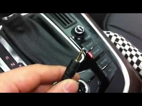 AUDI Q5 다인 System 242 스피커+헤드켑+3G MMI CABLE 장착후 동영상