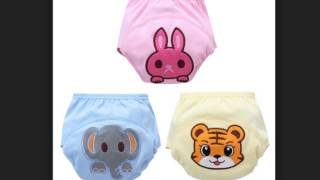 pcslot Baby potty training pants 6layer panties infant nappies cloth diaper newborn underwear free s