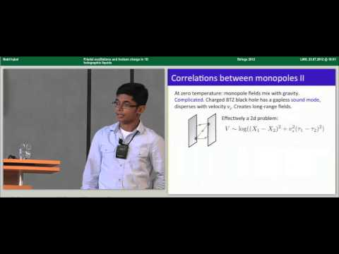 Nabil Iqbal - Friedel oscillations and horizon charge in 1D holographic liquids