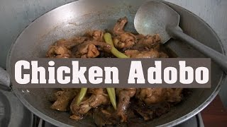 Chicken adobo - Filipino Dish - Philippine Food