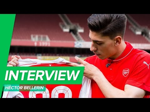 Arsenal home shirt designer interview w/Hector Bellerin and Eduardo Ayala