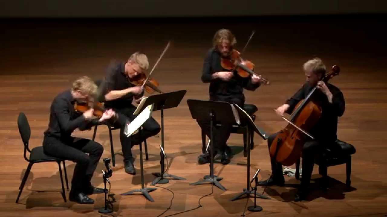 Haydn Quartet Op  54 No  2, Danish String Quartet LIVE
