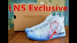 9e4729147c402 Cop LN5 Version Off white x Converse rather than PK  Best replicas unboxing
