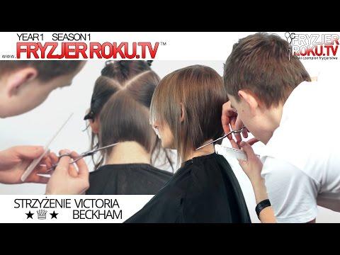 Strzyżenie a'la Victoria Beckham. Fashion bob FryzjerRoku.tv