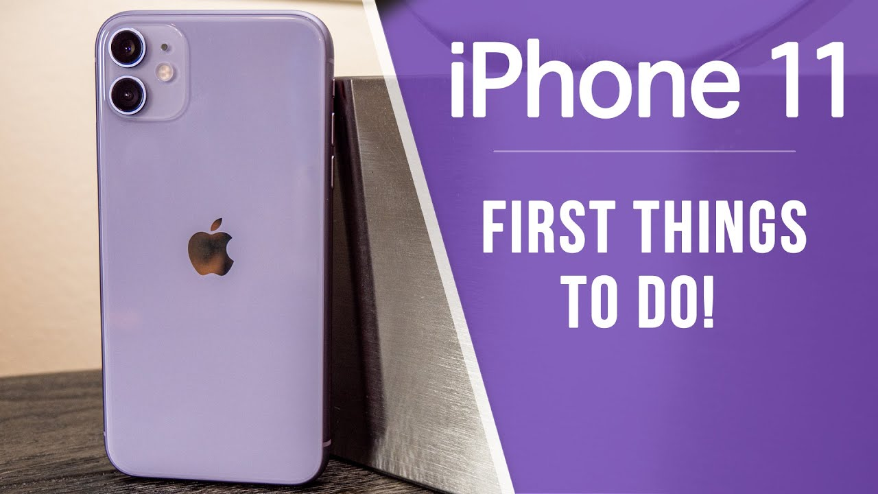 Photo of iPhone 11 – First 13 Things To Do! – شركة ابل