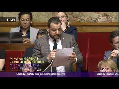 QAG à M.Stéphane TRAVERT Ministre de l'Agriculture et de l'Alimentation sur le diméthoate