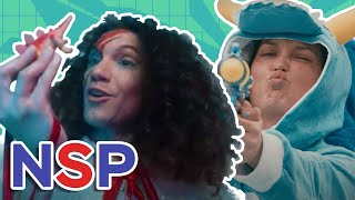 Dinosaur Laser Fight (Level Up) - NSP