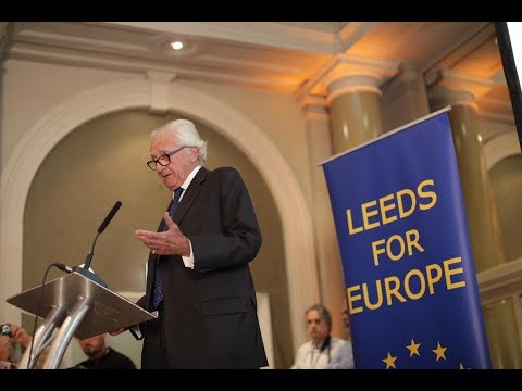 Lord Michael Heseltine at The Great Northern Stop Brexit Con