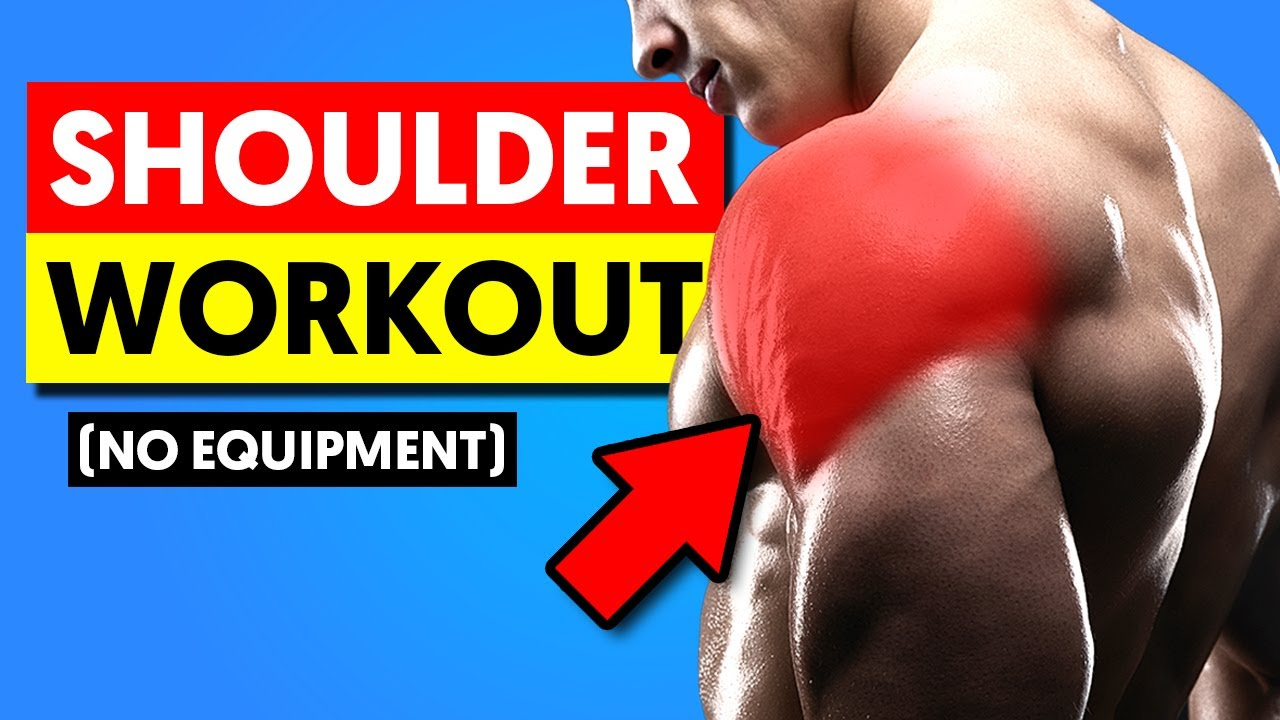 Easy Home Shoulder Workout for Fast Growth