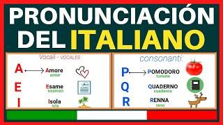🇮🇹 ITALIANO LECCIÓN 2  Pronunciación/Palabras en EN ITALIANO CON IMÁGENES | @Latina en Italia