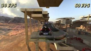 30fps vs 60fps Trackmania 2 Press Forward Test