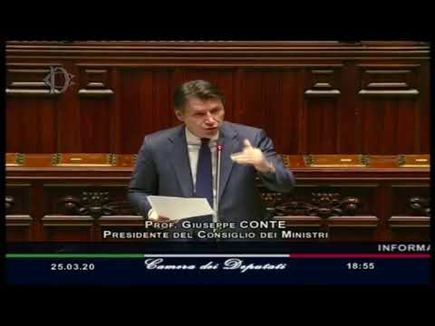REPLICA- Coronavirus, l'informativa urgente di Giuseppe Conte alla Camera