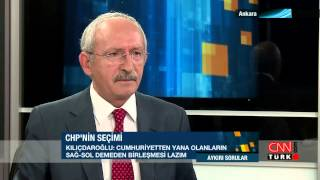 Kemal Kılıçdaroğlu, Enver Aysever'in sorularını yanıtladı: Aykırı Sorular - 27.02.2014