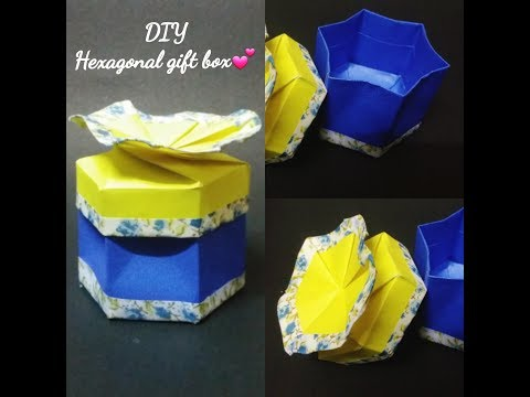 How to  make Gift Box without glue
