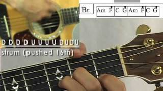 Inside Out Guitar Lesson Hillsong United