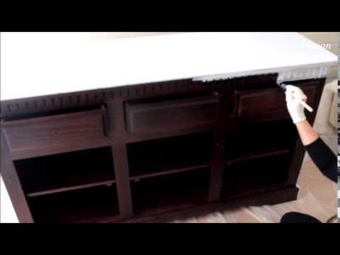 Zusa design geef een oude meubel een nieuwe look! youtube