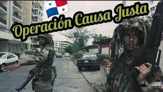 INVASIÓN DE PANAMÁ - Operación Causa Justa - Parte 1