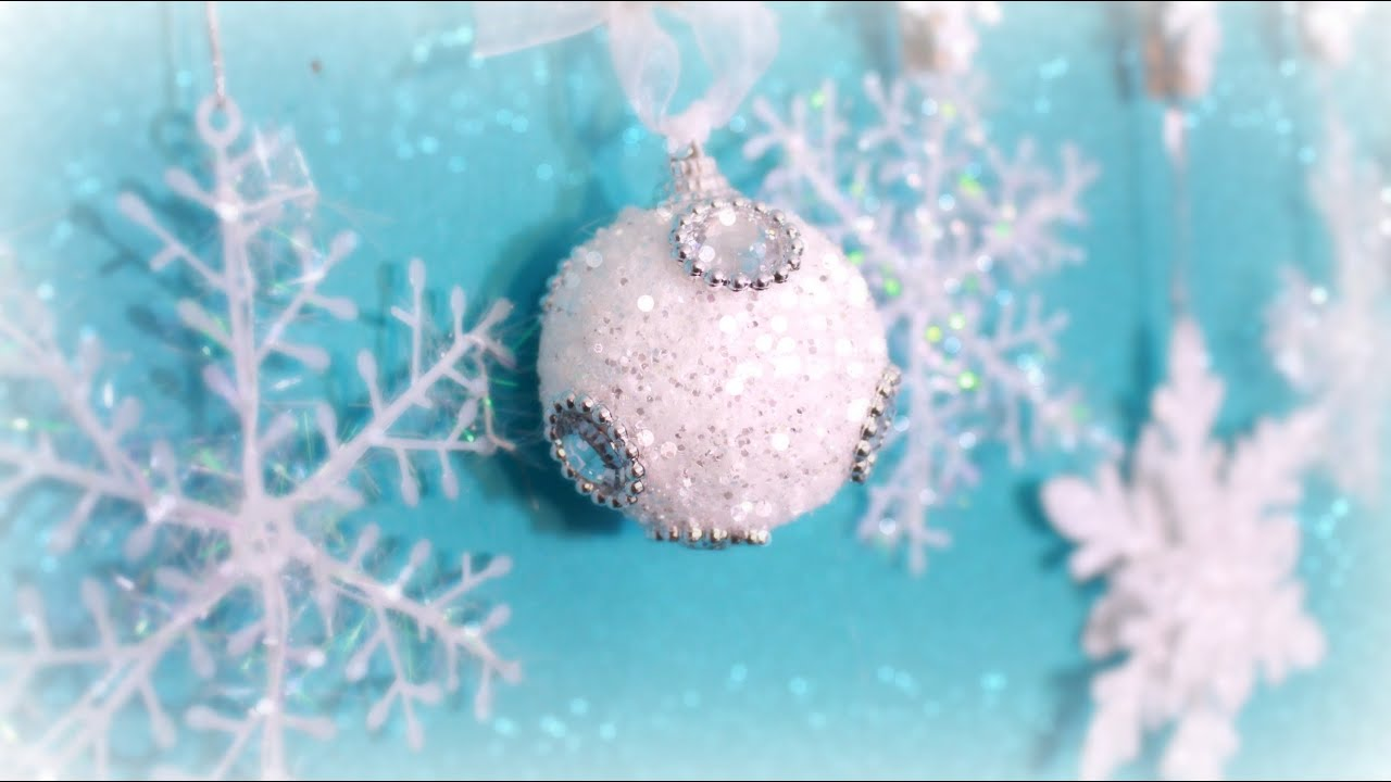 Diy holiday decorations: blue white silver & a bit of red youtube