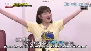 [ENG] RUNNING MAN Episode 304 - Lee Sung Kyung called Kwang Soo
