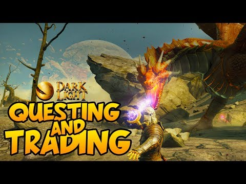 DARK AND LIGHT - NPCs, Questing, Traders and Gold! - Dark and Light Gameplay #2