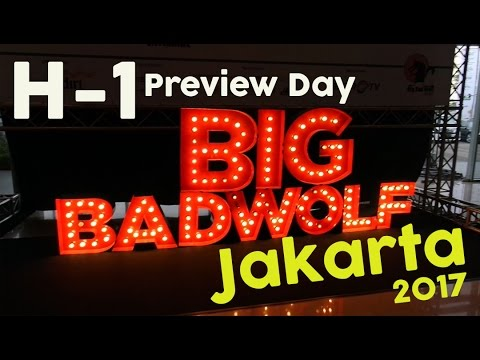VIP Access Preview Day? - Big Bad Wolf 2017 Book Sale Jakarta, Indonesia [BBW Jakarta 2017]