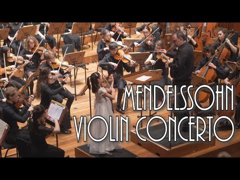 Mendelssohn Violin Concerto in E Minor | Leia Zhu