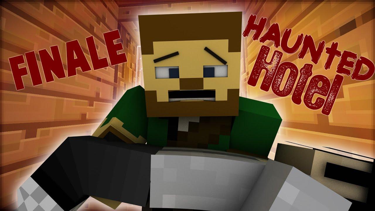 "Haunted Hotel ""' Dead "" Minecraft Roleplay Adventure"