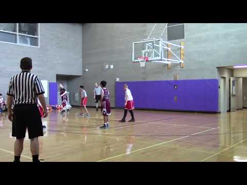 Newport 5th ETL vs Cascade Basketball Game 1st Half