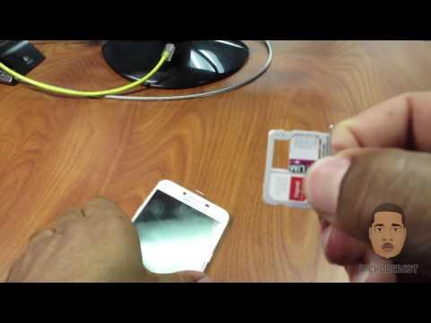 How to install sim card in Samsung Galaxy C5