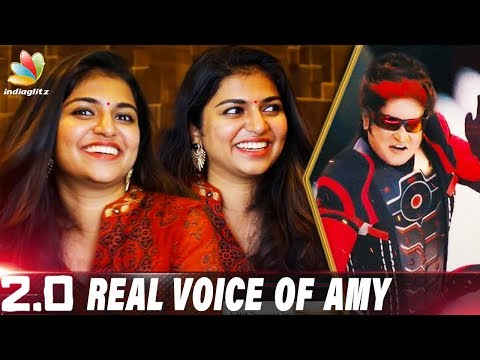 How Can Shankar Think like this ? : Dubbing Artist Raveena Interview | Amy Jackson, 2.0