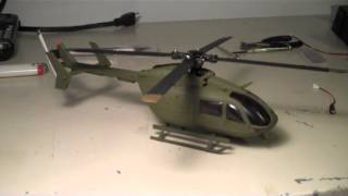 Modify RC EC145 Eurocopter to RC UH 72A Lakota