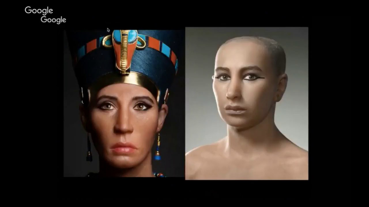 DESTROYING THE MYTH OF A WHITE NEFERTITI!! A MUST SEE!!!
