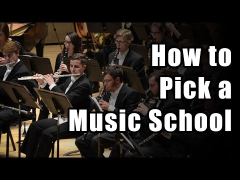 How to Pick a Music School