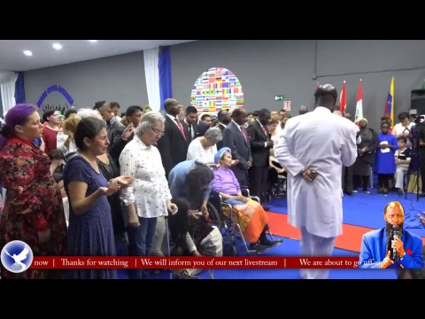 Mighty Healing Service - Barcelona 27th May 2018