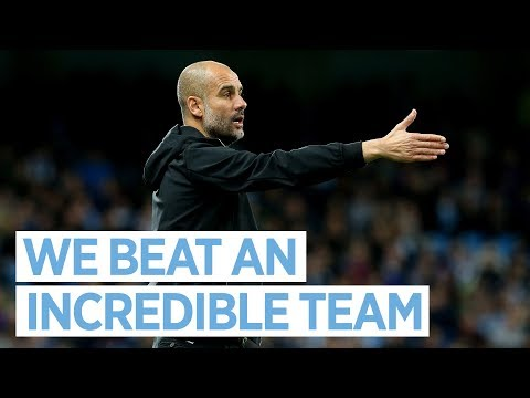 MAN CITY 2-1 NAPOLI I Pep Guardiola Post Match Press Conference I 2017/18