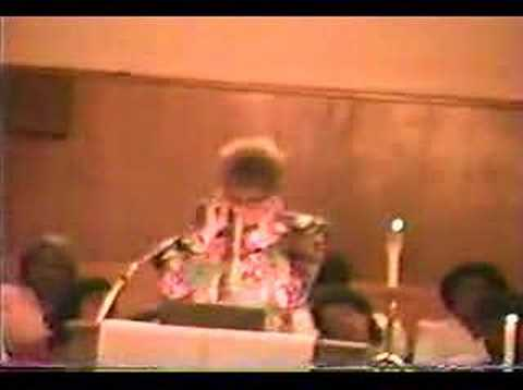 Wilma Rudolph, Speaker, JWesley UMC, Nashville1