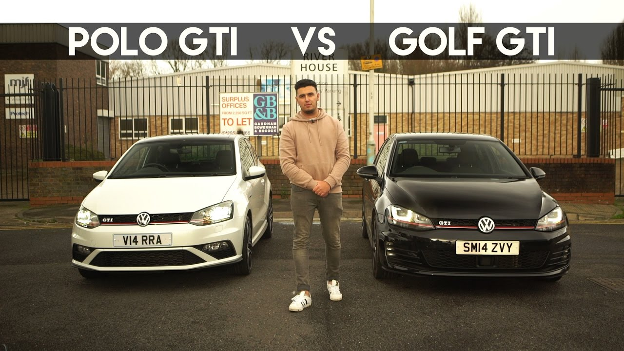 polo gti vs golf gti youtube. Black Bedroom Furniture Sets. Home Design Ideas