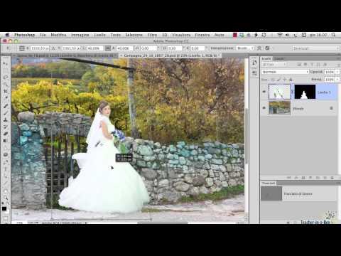Videocorso Selezione E Scontorno Con Photoshop CC E CS6 - Le Maschere Trasparenti