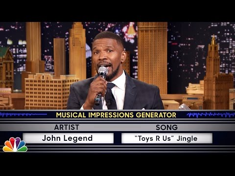 Видео: Wheel of Musical Impressions with Jamie Foxx
