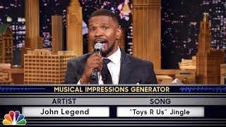 Repeat youtube video Wheel of Musical Impressions with Jamie Foxx